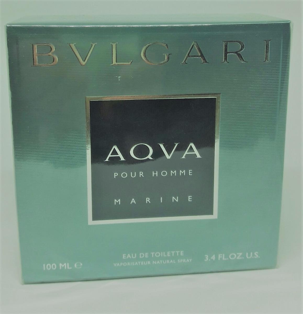 fe36281a1cc Perfume Bvlgari Aqva Marine 100ml Edt Original Frete Grátis. - R  237