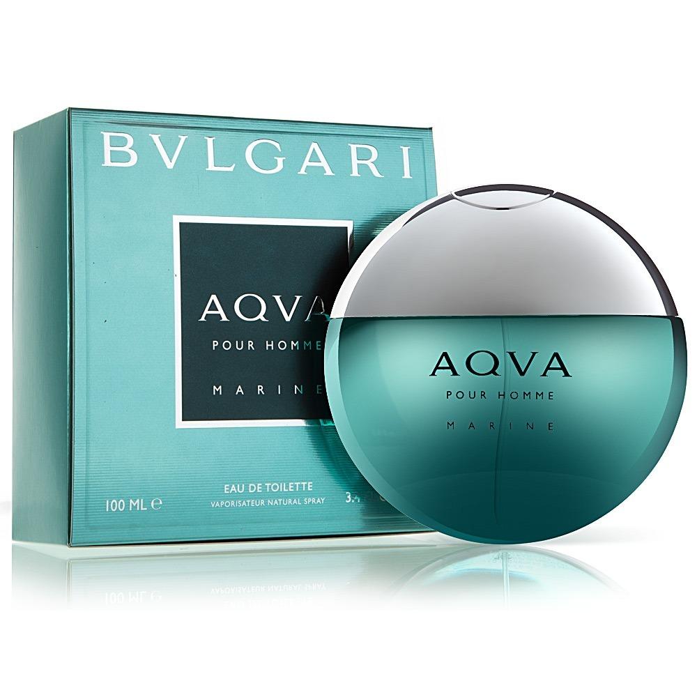 6280a40c374 Perfume Bvlgari Aqva Marine Pour Homme Masc Edt 100ml - R  234