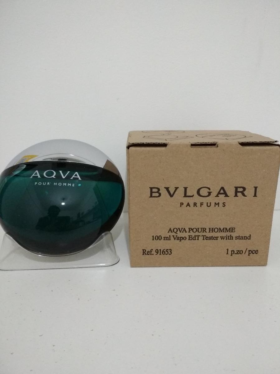 6d54cdb14bb perfume bvlgari aqva pour homme tester 100ml original. Cargando zoom.
