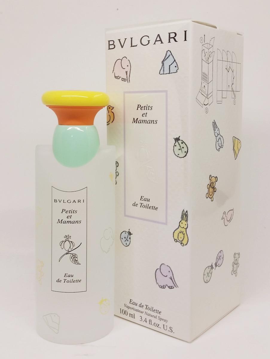 62776ab9c26e2 perfume bvlgari infantil petits et mamans edt 100ml original. Carregando  zoom.