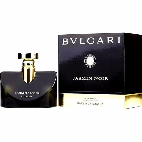 perfume bvlgari jasmin noir 100 ml original mujer