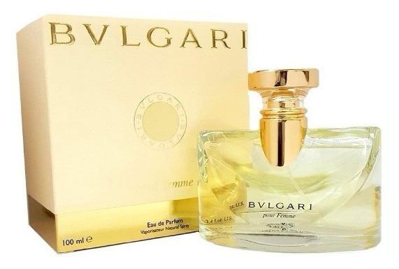 b312011b972d3 Perfume Bvlgari Pour Femme 100ml Edp Original Lacrado - R  304,89 em ...