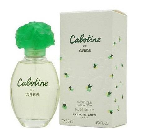 perfume cabotine 100ml parfums gres paris feminino