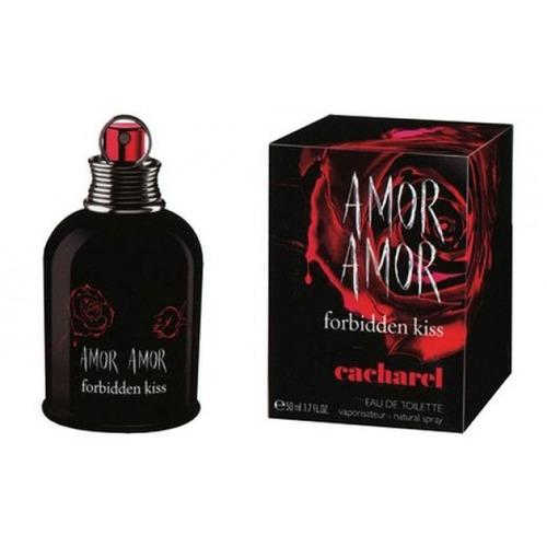 perfume cacharel amor amor forbidden kiss 100ml para mujer