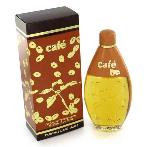 perfume cafe clasico para damas 100% original