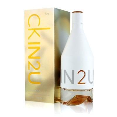 Perfume Calvin Klein Ck In2u Her Feminino Edt 150ml Original - R ... 0179c9a6bc