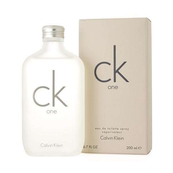 1f223e85d Perfume Calvin Klein Ck One Edt Unissex 200ml - R  227