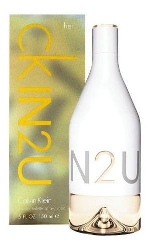 perfume calvin klein ckin2u 150 ml women