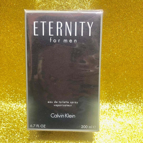 perfume calvin klein eternity 200ml para hombre