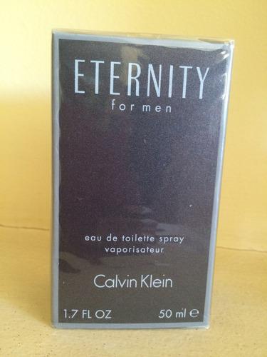 perfume calvin klein eternity 50 ml para hombre. original
