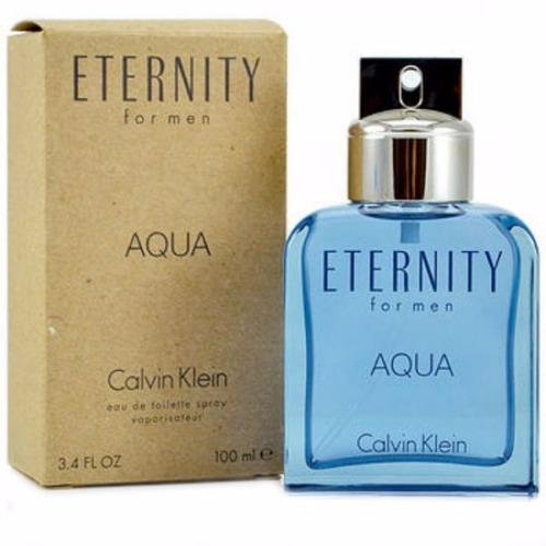 perfume calvin klein eternity aqua masculino 100ml - tester