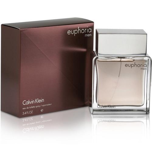 perfume calvin klein euphoria 200ml para hombre
