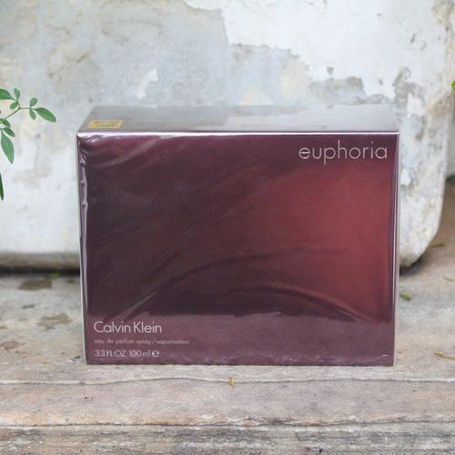 perfume calvin klein euphoria fem edp 100ml selo adipec + nf