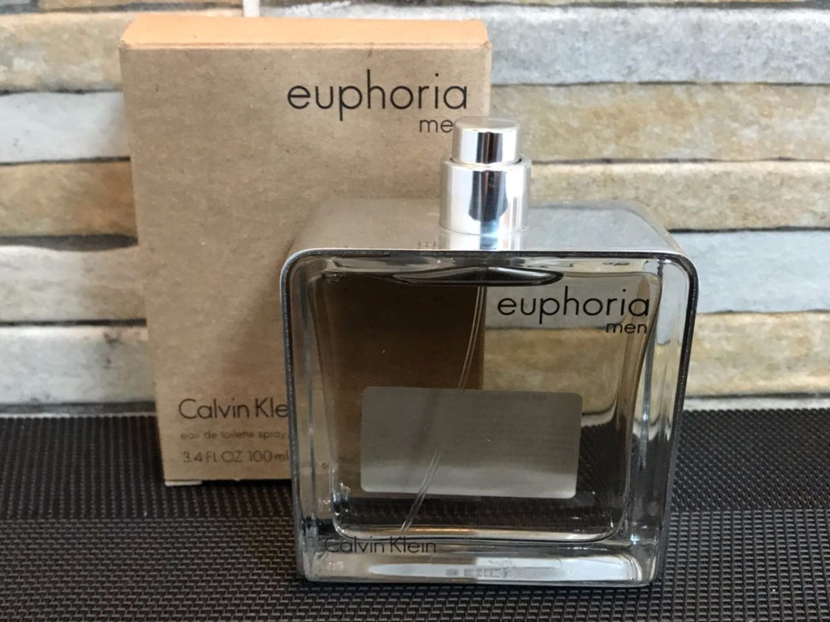 86f430bee7fd3 perfume calvin klein euphoria for men edt 100ml - tester. Carregando zoom.