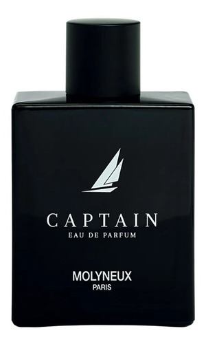 perfume captain eau de parfum 100 ml - sem caixa - molyneux - original