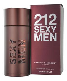 Herrera Men Perfume Carolina 212 100ml Sexy Original PXuOkZiT