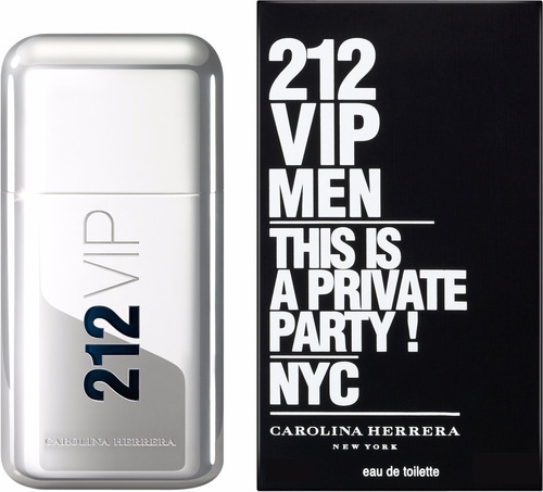 perfume carolina herrera 212 vip 100 edt imp hombre original