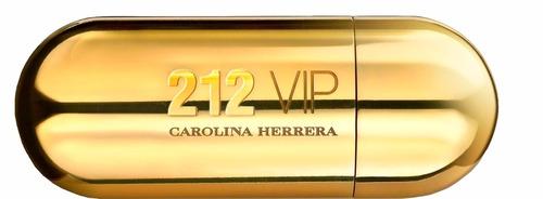 perfume carolina herrera 212 vip 80 ml mujer