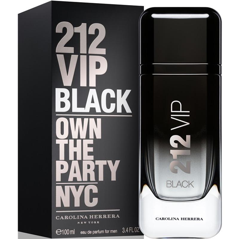 perfume carolina herrera 212 vip black 100ml hombre original. Cargando zoom. f6b4c0481b