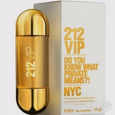 e8aad97c78 Perfume Carolina Herrera 212 Vip Eau De Parfum 30ml Feminino - R ...