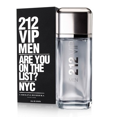 perfume carolina herrera 212 vip men 100ml original