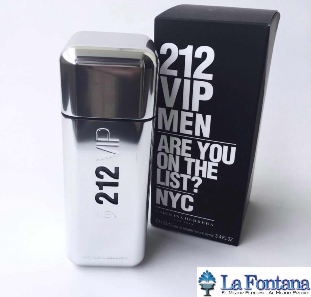Perfume Carolina Herrera 212 Vip Men Hombre 100 Ml Original
