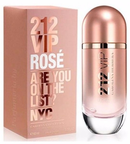perfume carolina herrera 212 vip rose 100ml