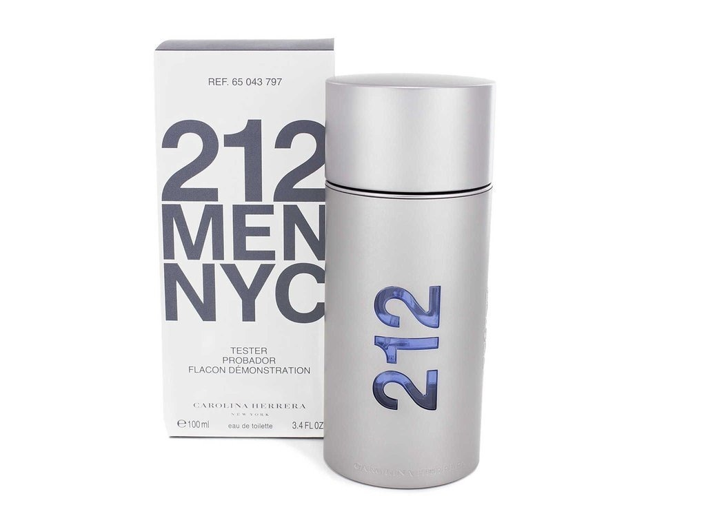 0161643154 Perfume 212 Men Tester Edt 100ml Carolina Herrera - $ 1.800,00 en ...