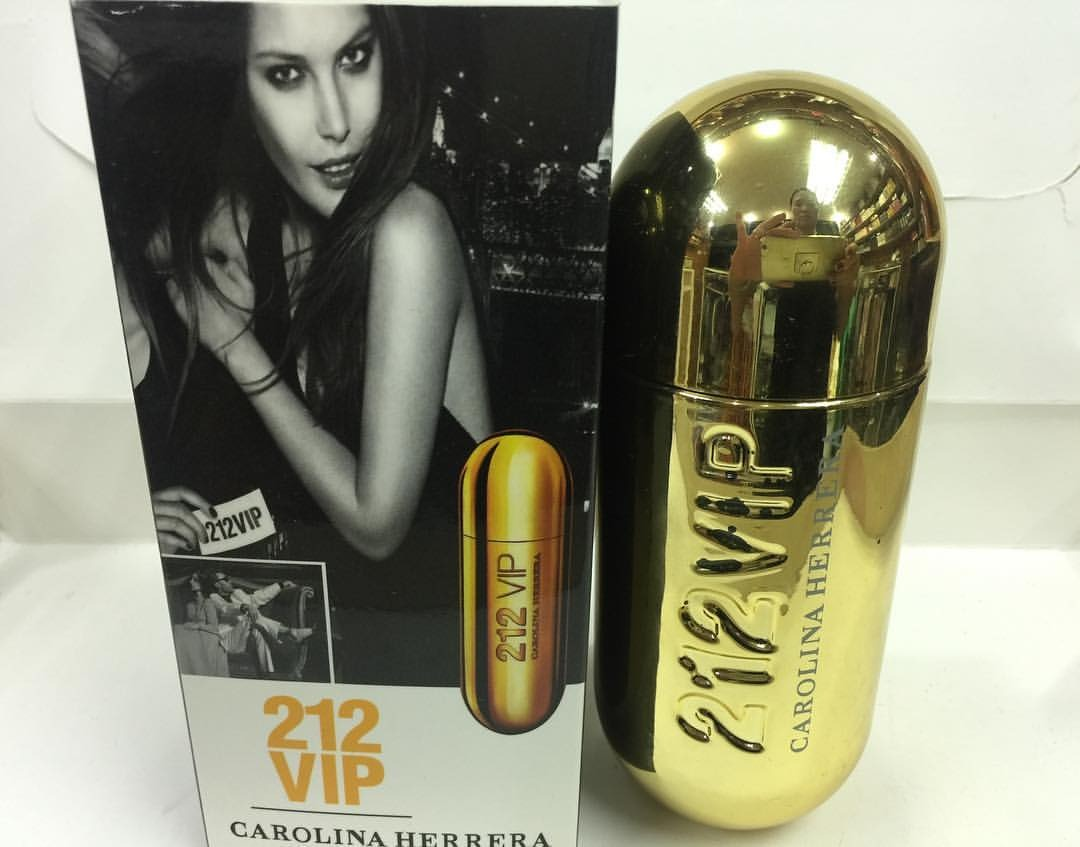 Perfume Dama Dorado 212 Carolina De Vip Herrera 80ml xsCtdBrhoQ