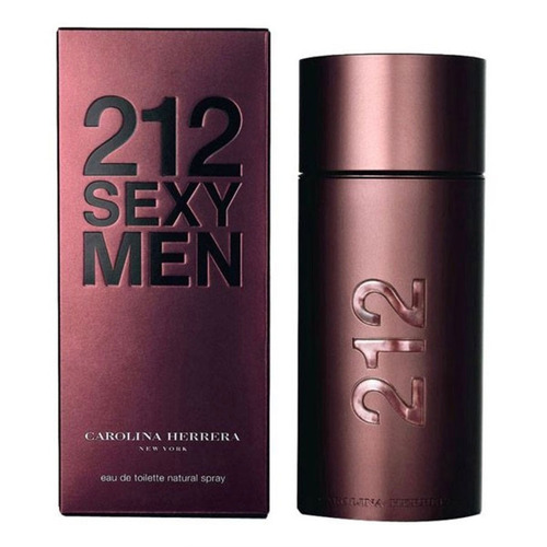 perfume carolina herrera ch 212  sexy 100 ml men