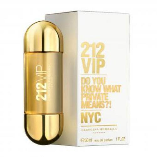 perfume carolina herrera ch 212 vip 80 ml mujer