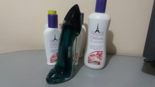 perfume carolina herrera ch good girl 80 ml mujer mas crema