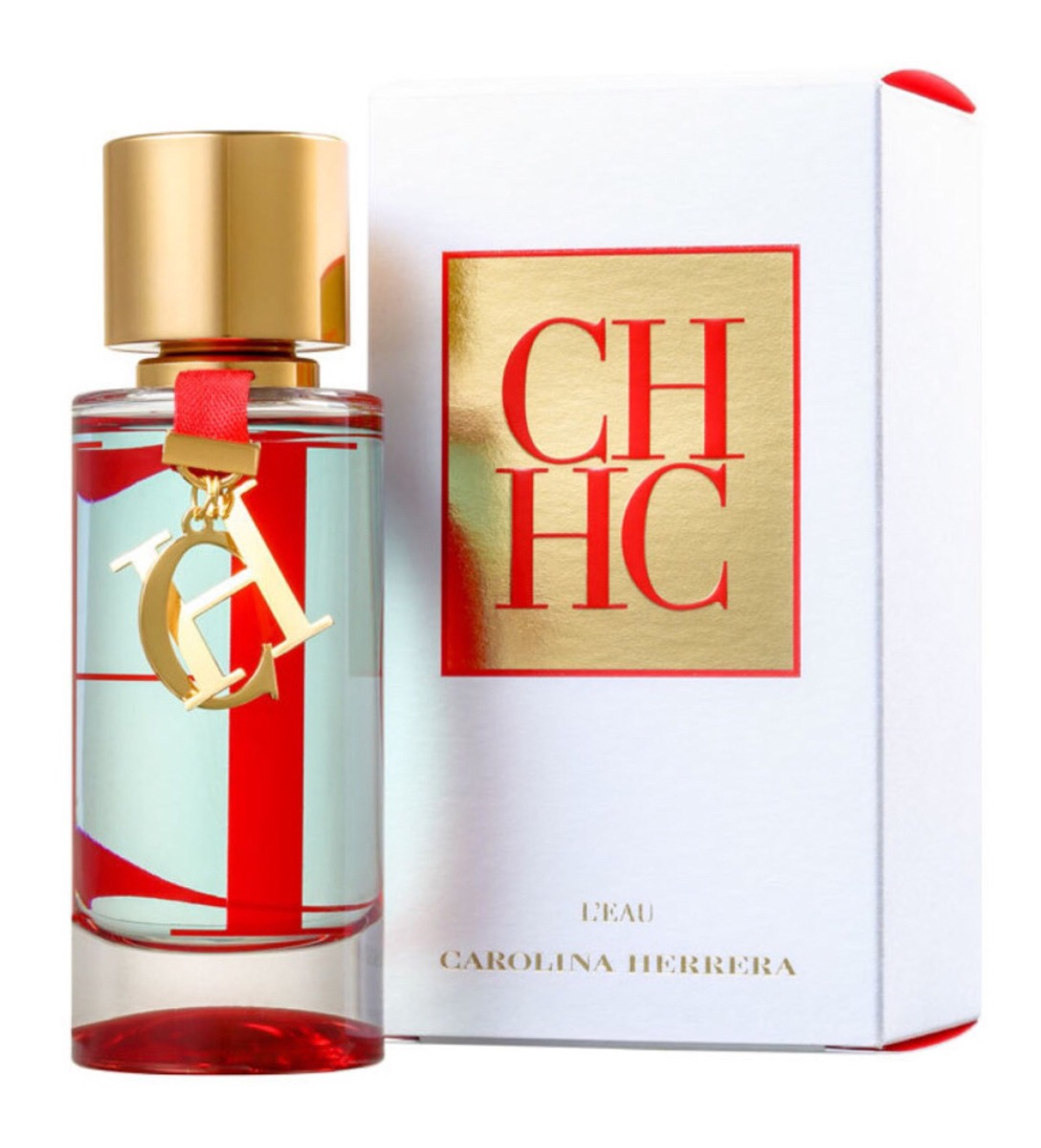 Perfume Carolina Herrera Ch Leau 50ml Versão Nova - R  269,90 em ... bea229a8ae