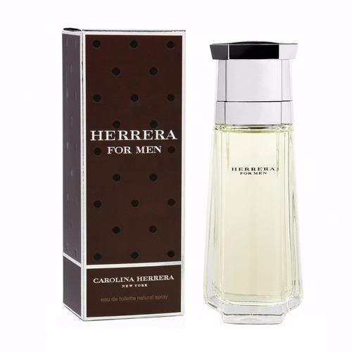 perfume carolina herrera herrera for men 100ml para hombre