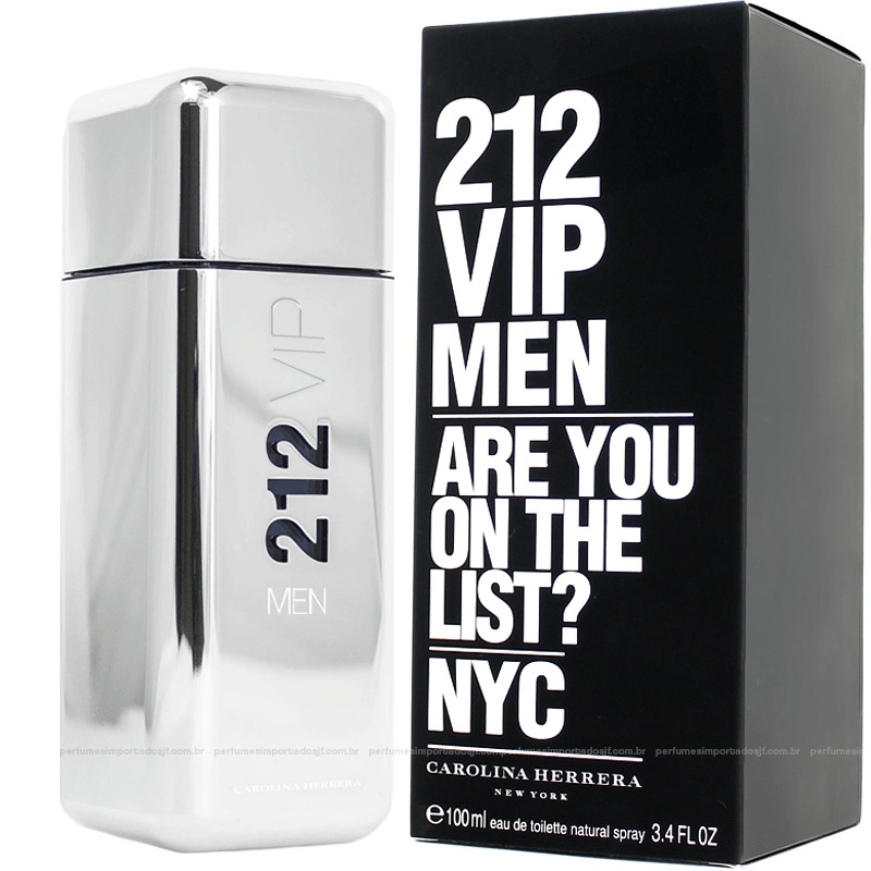 e3bb1e3af Perfume 212 Vip Men Carolina Herrera 100ml Masculino - R$ 389,90 em ...