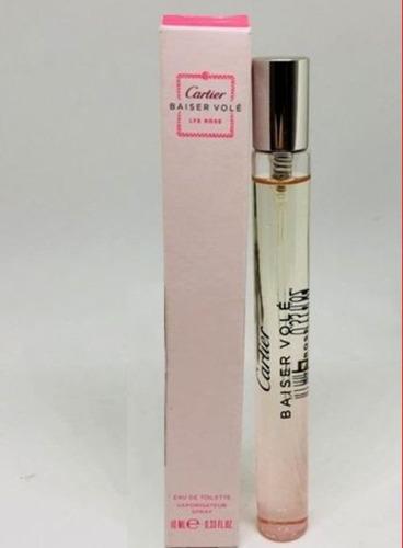 perfume cartier baiser vole lys rosé 10ml spray linda!!