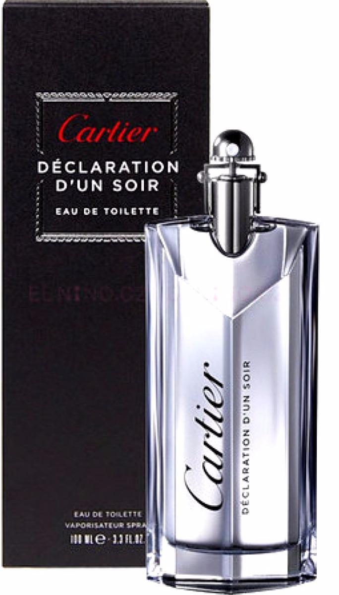 f663e69725e Perfume Cartier Declaration D un Soir Novo 100ml+ Amostra! - R  389 ...