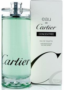 perfume cartier eau concentree original 200 ml envio hoy