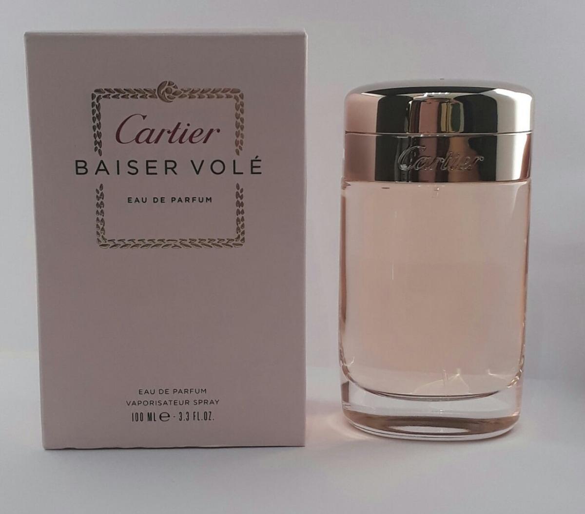 d728a36c015 Características. Marca Cartier  Nome do perfume Baiser Volé  Gênero Feminino   Tipo de perfume Eau de parfum  Volume 100 mL ...