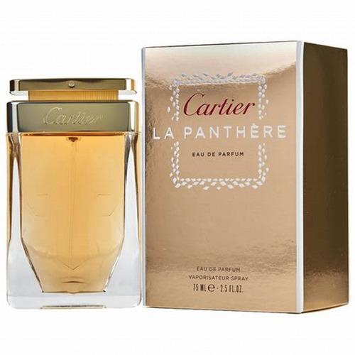 perfume cartier la panthère  feminino edp 75ml original