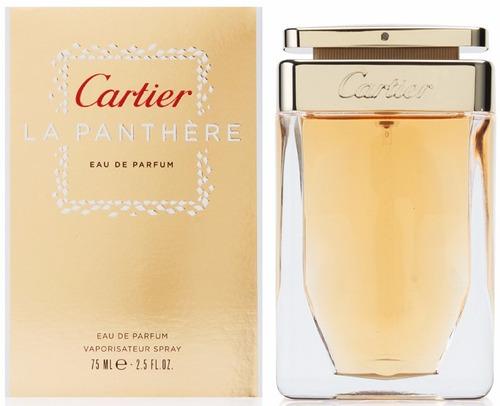perfume cartier la panthere mujer 75 ml original envío hoy