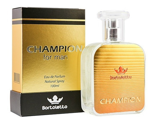 perfume champion bortoletto 100ml insp. azzarro pour homme