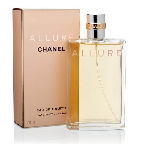 perfume chanel allure eau de toilette mujer 3.4oz 100ml