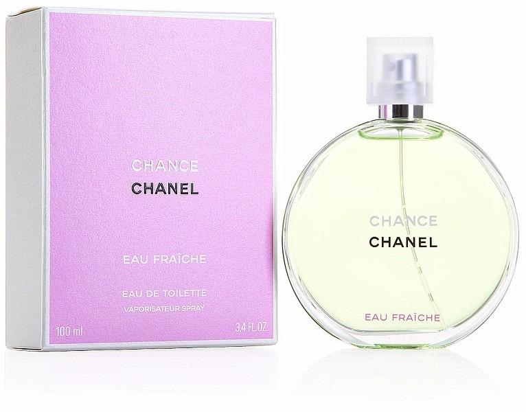 2959395c7a1 Perfume Chanel Chance Eau Fraiche Edt 100ml - 100% Original. - R ...