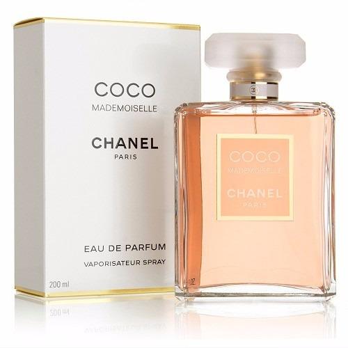 perfume chanel  coco mademoiselle 200ml edp para mujer