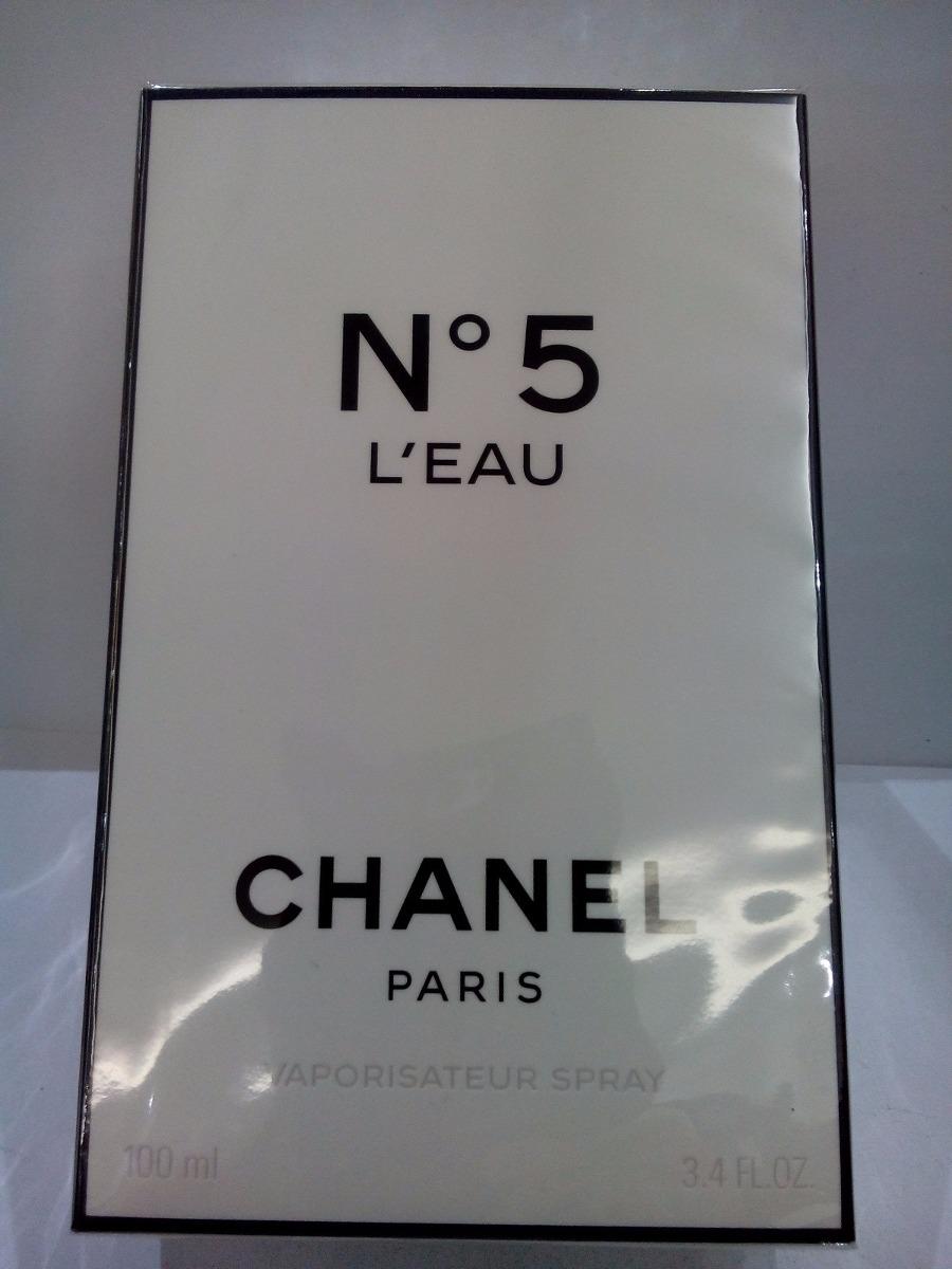 ab6a57e2c Perfume Chanel N 5 L'eau 100 Ml Feminino Original Importado - R$ 698,08 em  Mercado Livre