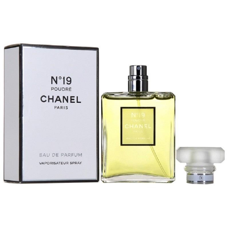 Perfume Chanel N°19 Poudre Edp 100ml -   3.580,00 en Mercado Libre 653a89168083