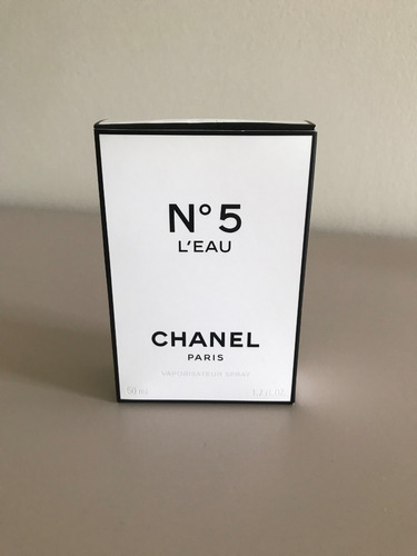 perfume chanel n°5 l'eau  50 ml original