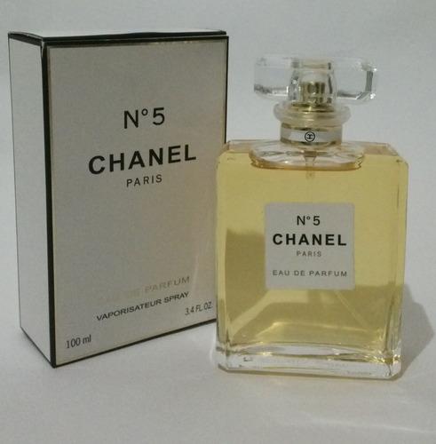 perfume chanel no 5 100% original envi - ml a $1799
