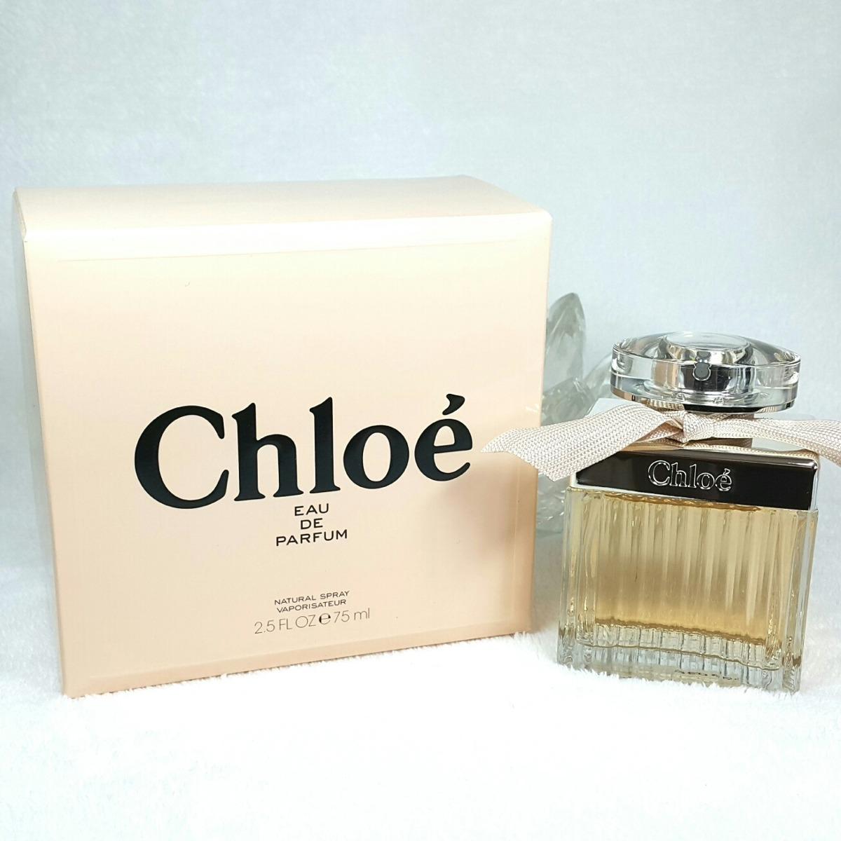 Perfume Chloé 75ml Eau De Parfum Made In France Frete Grátis R